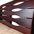 """Кровать деревянная """"Марита Люкс с ящиками """" 1,4, фото 4"""