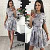 Модное короткое платье лето 2017