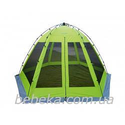 Тент-шатер напівавт.  Norfin LUND / FG / 360Х315х195см / NF (NF-10802)