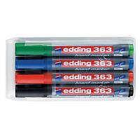 Маркер для доски Маркер для сухостираемой доски Edding Е-363 (Е-363 001(черный) x 128269)