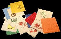 Салфетки 33х33 40 шт 3шар. белые с логотипом 0126455 (0126455 x 37806)