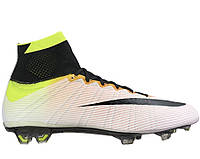 Футбольные бутсы Nike Mercurial Superfly Radiant Reveal FG White/Black/Volt/Total Orange