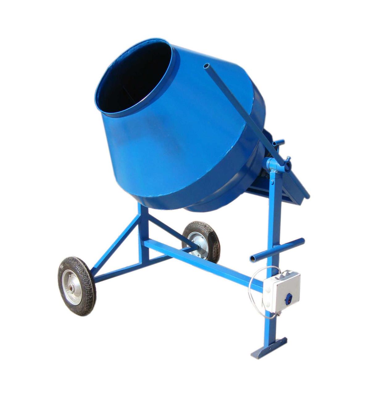 Бетономешалка профессиональная объёмом 150 литров