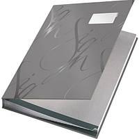 Папка на подпись Папка На подпись Leitz покрытие soft skin  574500 (57450001(белая) x 49381)