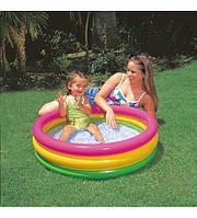 Детский надувной бассейн Intex 57104, мини бассейн, детские бассейны, надувные игрушки, для детей, Интекс