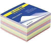 Блок бумаги для заметок Блок бумаги для записей Декор 90х90х500л не скл.  Buromax BM.2285 (BM.2285 x 26483)