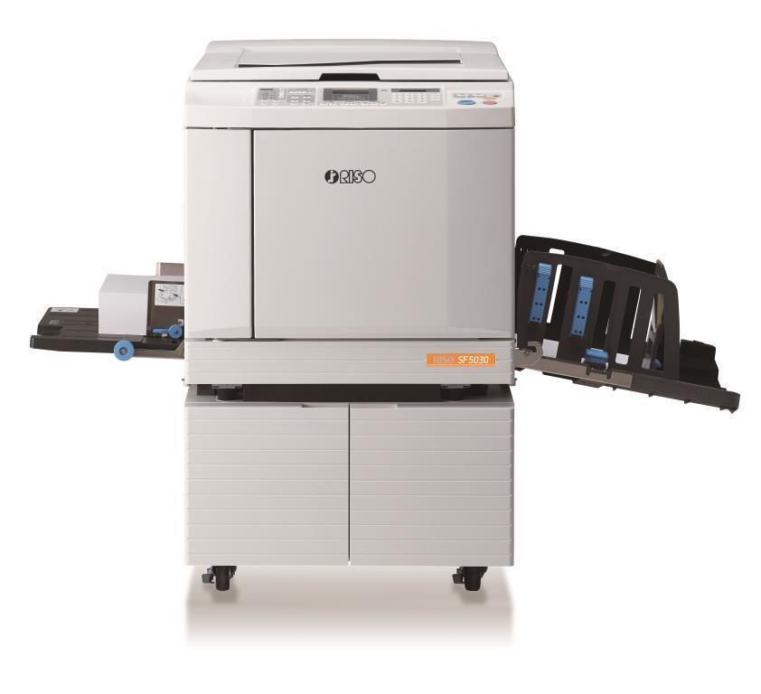 Ризограф Riso SF 5030 c растровой и полутоновой печатью изображений