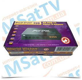 World Vision T59 цифровой эфирный HD DVB-T2 ресивер