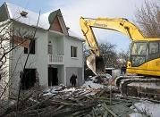 """Услуги по демонтажу и сносу зданий, вывоз строительного мусора, боя, грунта """"АТП - УКРКИЕВТРАНС"""""""