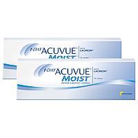 Однодневные Контактные линзы 1 day Acuvue Moist Купи - Скидка на опт!