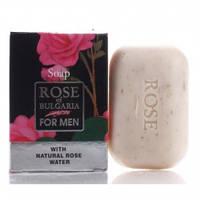 Туалетное мыло для мужчин Болгарская роза 100 мл ROSE for men