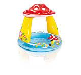 Детский надувной бассейн 57114 с навесом, детские надувные  бассейны, игры для детей, Интекс, фото 2