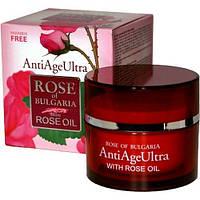 Крем для лица ROSE ULTRA с розовым маслом от старения