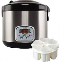 Мультиварка Magio МG-423 900Вт 5л 310 программ Шеф-повар керам. чаша стаканчики для йогуртов