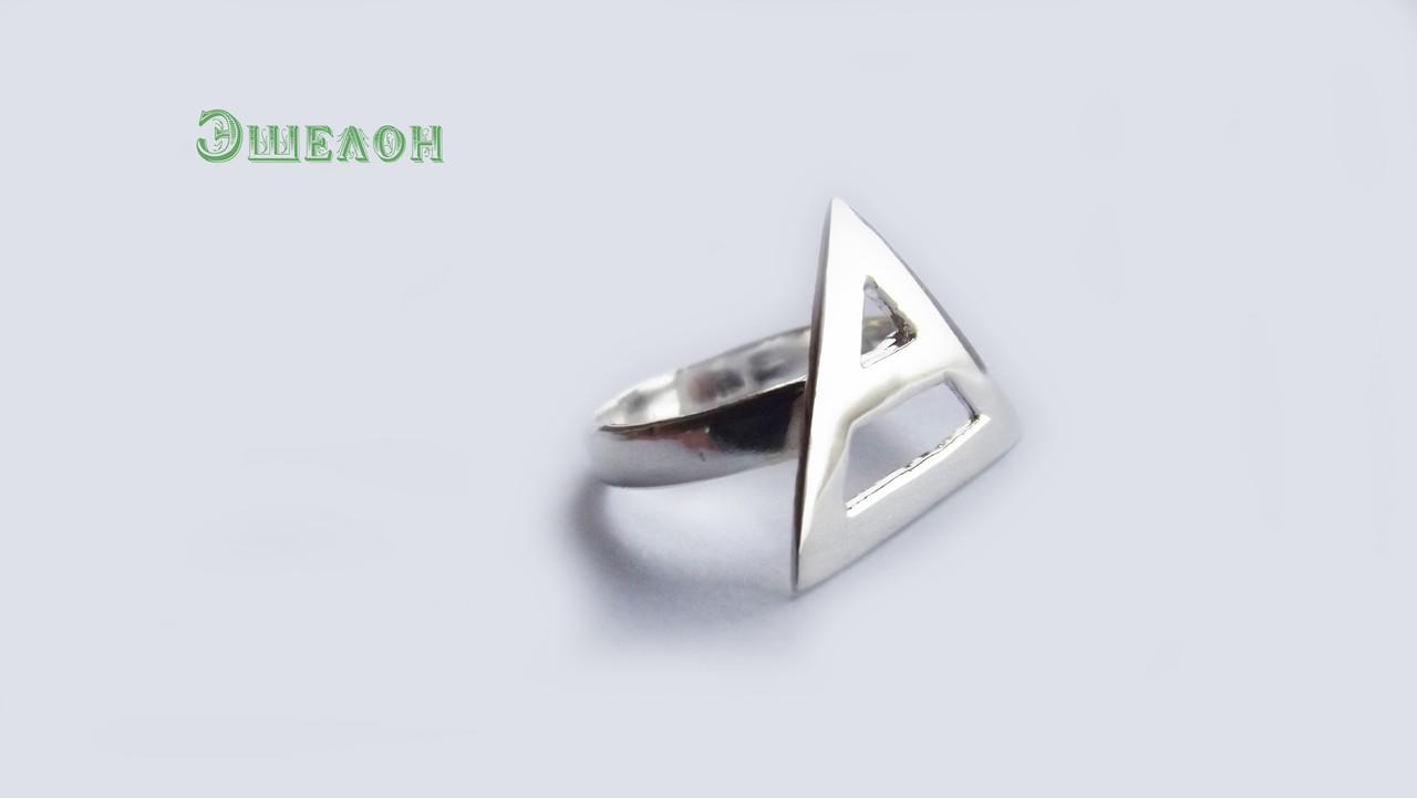 Кольцо из серебра Триада 30 Seconds To Mars КЦ-77 Б