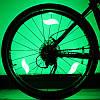 Светодиодные фонарики на спицы, подсветка велосипедныйх колес, фото 6