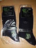 Тонкие черные мужские носки бамбук, фото 1