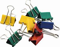Биндер для бумаги Биндеры цветные 25 мм Buromax BM.5354 (BM.5354 x 27811)