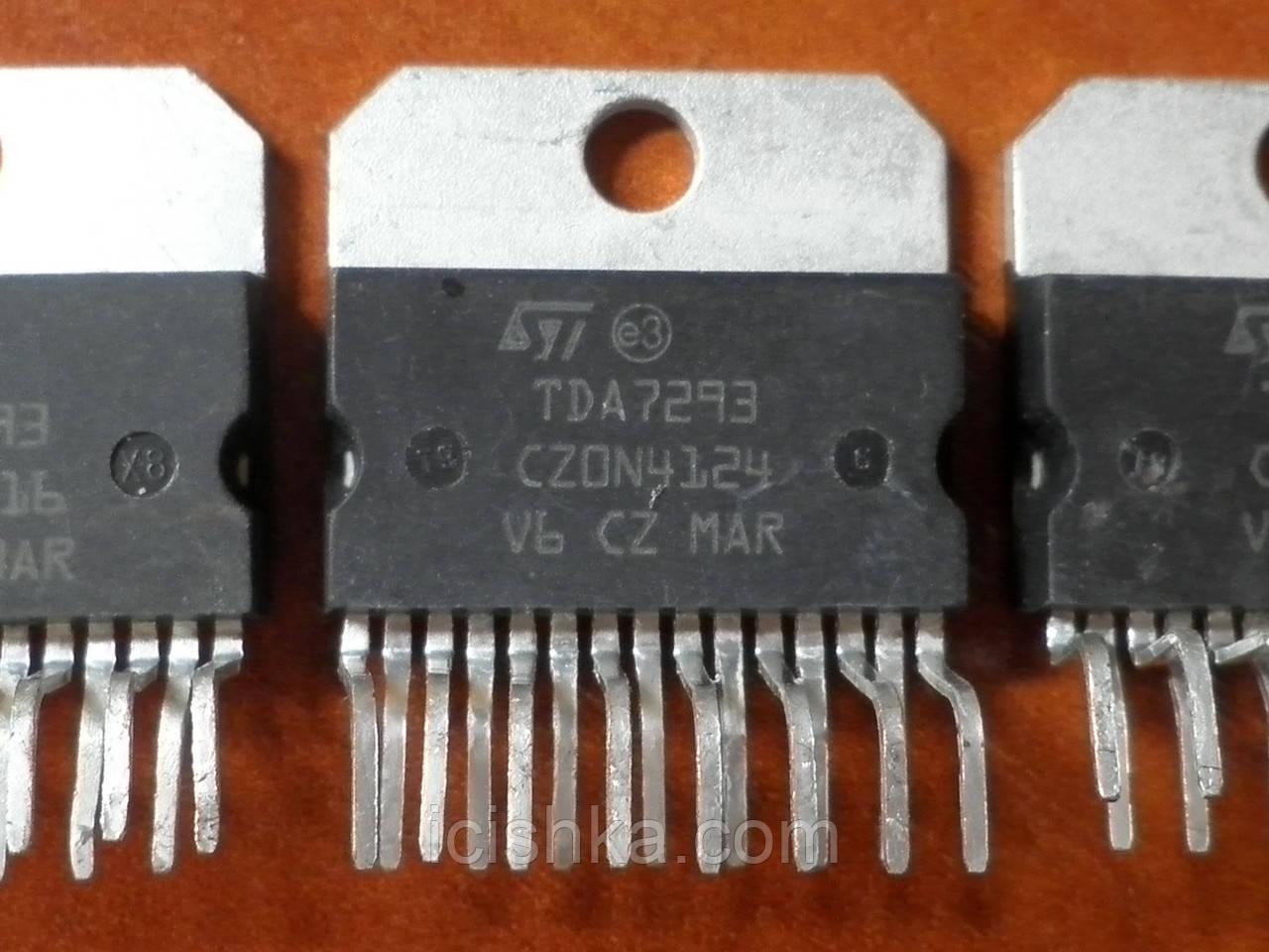 TDA7293 Multiwatt15 - 100W DMOS усилитель (УНЧ) для колонок, сабвуфера