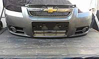 Передний бампер седан Chevrolet Aveo T250 GM 96648503
