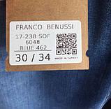 Джинсы мужские Franco Benussi 17-238 синие, фото 5