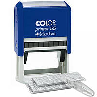 Штамп самонаборной Colop Printer 55/2 Set (55/2 x 3537)