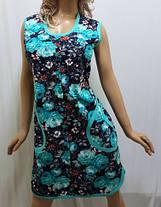 Халат женский на пуговицах большого размера 54,56,58,60,62, Харьков, фото 3