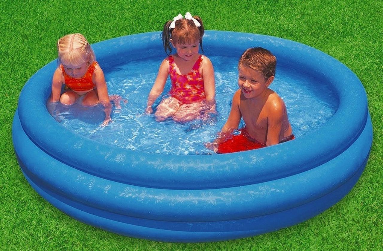 Бассейн надувной детский Intex 59416 Кристалл, , бассейны для детей, Интекс