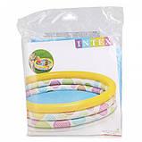 Бассейн надувной детский Intex 59419, яркая расцветка, бассейны для детей, Интекс, фото 3