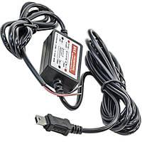 ☄Адаптер питания Lesko 12V-5V прямой mini USB автомобильный для навигатора планшета
