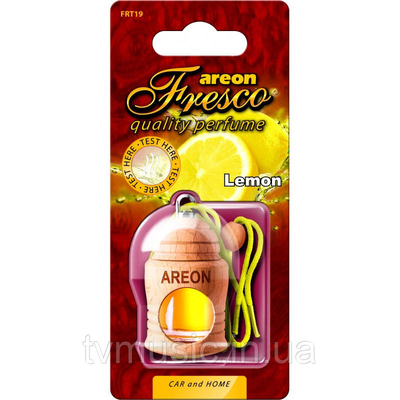 Ароматизатор Areon Fresco Lemon / Лимон
