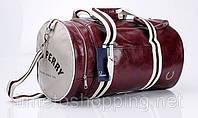 Мужская сумка FRED PERRY Бордовый