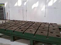 Плита монтажно-сборочная стендовая сварочная чугун с т-образными продольными и поперечными пазами3500*2000 м