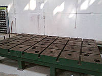 Плита монтажно - сварочная чугунная 3500*2000 м