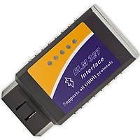 Сканер для диагностики автомобиля OBD 2 адаптер ELM327 Bluetooth v2 сервис мониторинг блютуз универсальный обд