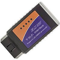 Сканер для диагностики OBD2 адаптер ELM327 Wi-Fi сервисное обслуживание блютуз универсальный автомобильный обд