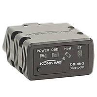 Диагностический OBD2 адаптер KONNWEI KW902 ELM327 V1.5 Bluetooth сканер для автомобиля сервис универсальный