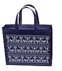 Эко сумка  хозяйственная с замочком (спанбонд) малогабаритная, фото 1