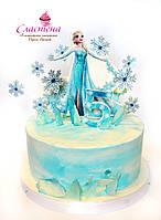 Детский Торт  Frozen  (кремовый без мастики)