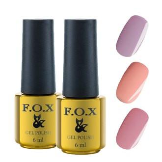 Гель лак FOX 6 ml French