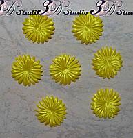 Пресс основа для создания цветов желтый