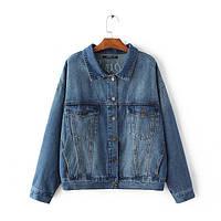 Куртка женская джинсовая Куртки джинсовые Zara AA03