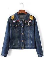 Куртка женская джинсовая Куртки джинсовые Zara AA01