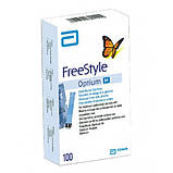 Тест-полоски FreeStyle Optium Neo H №100 Фристайл Оптиум Neo H 100 шт, фото 2