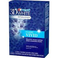 Полоски отбеливающие Crest 3D Whitestrips White Vivid (средство для отбеливания зубов)