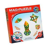 Магнитный развивающий 3D конструктор Mag Puzzle 20 Деталей