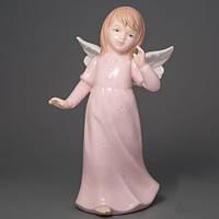 """Красивая фарфоровая статуэтка """"Девочка-ангел"""" 15 см 2 вида"""