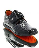 Туфлі дитячі чорні, лакована шкіра (051М чн. Лк_РП) Romastyle