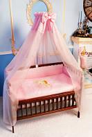 Постельное белье в детскую кроватку - 7 единиц (без кармана)