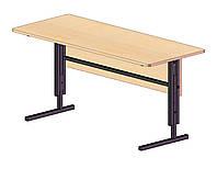 Стол ученический регулируемый с панелью